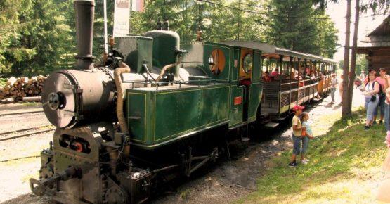 Skanzen a historická železnica Vychylovka